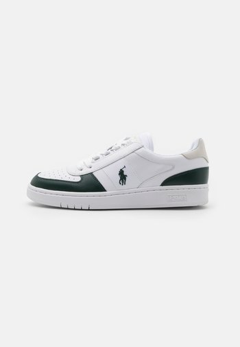 UNISEX - Trainers - white/college green
