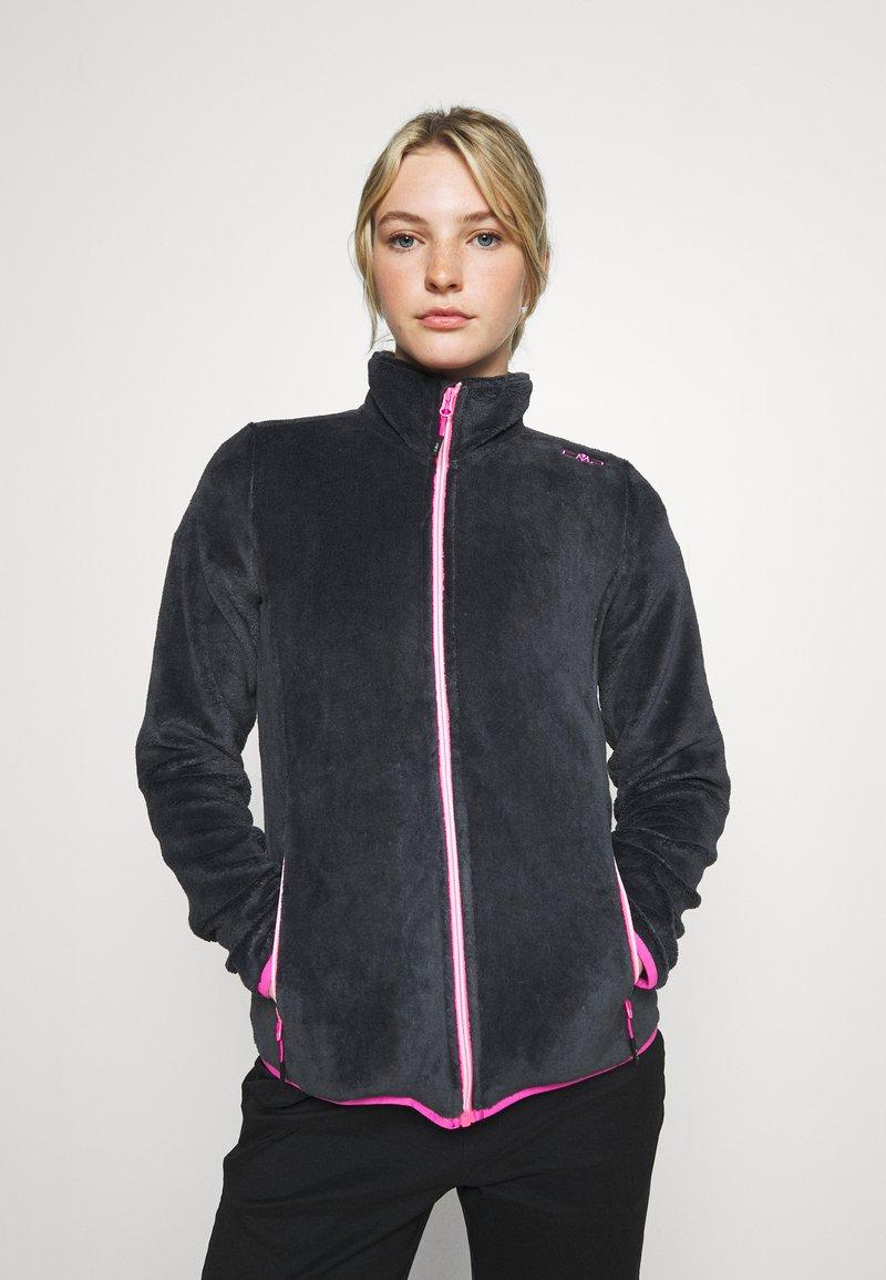 Campagnolo - WOMAN JACKET - Fleece jacket - titanio