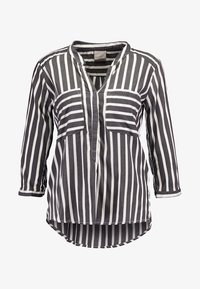 Vero Moda - ERIKA - Blouse - black/snow - 4