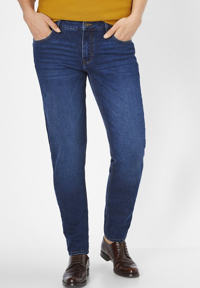 MIT MOTION&COMFORT JUNA - Slim fit jeans - dark blue