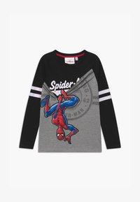Desigual - MARVEL SPIDER MAN - Bluzka z długim rękawem - black - 0