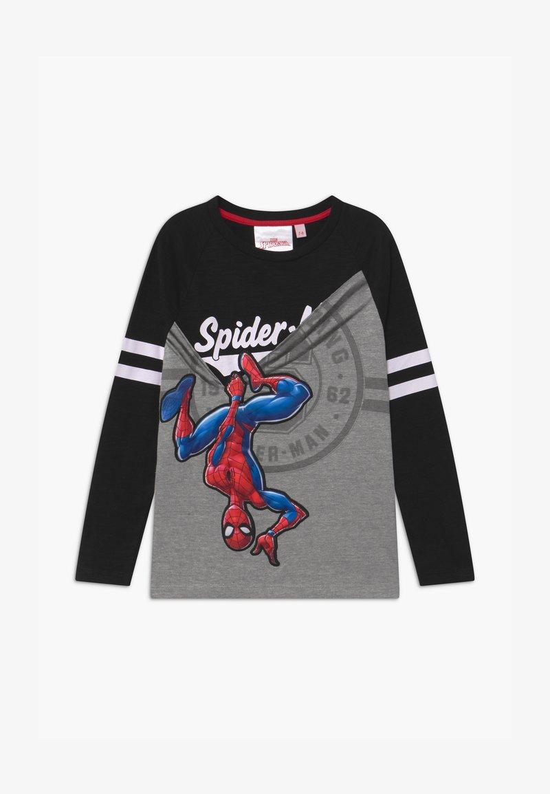 Desigual - MARVEL SPIDER MAN - Bluzka z długim rękawem - black