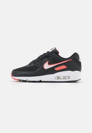 AIR MAX 90 - Sneakers laag - black/light soft pink/magic ember/white