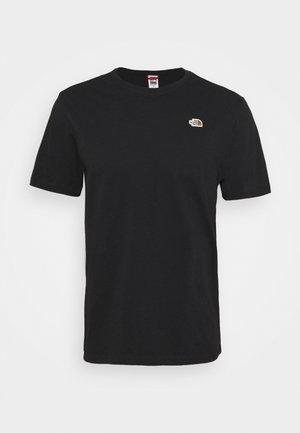 RECYCLED TEE - Basic T-shirt - black