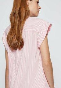 BOSS - BEMIRTA - Button-down blouse - pink - 4