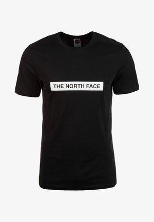 M S/S LIGHT TEE - Print T-shirt - black