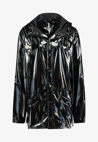 Rains - UNISEX HOLOGRAPHIC JACKET - Impermeable - black - 4
