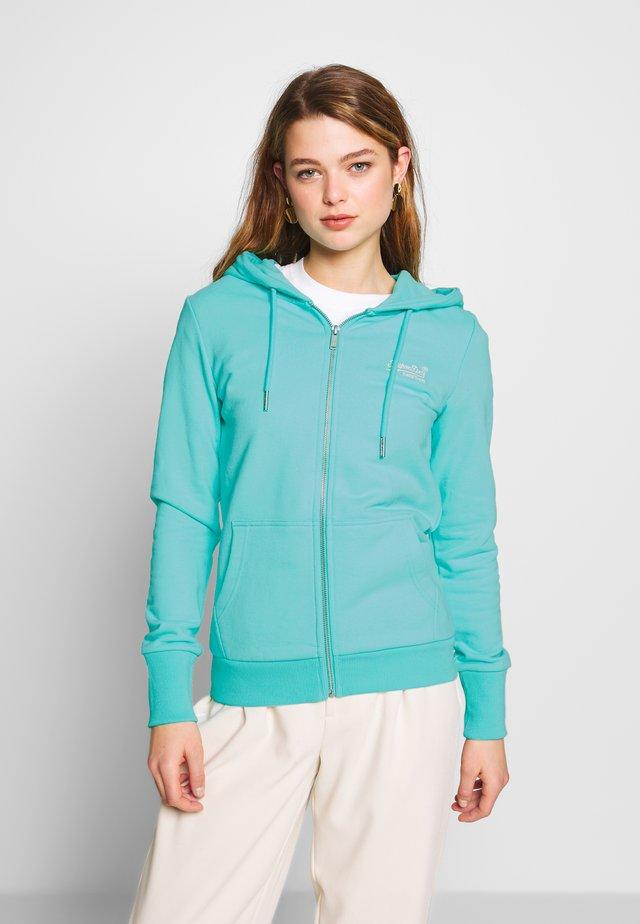 ZIPHOOD - Zip-up hoodie - aqua sky