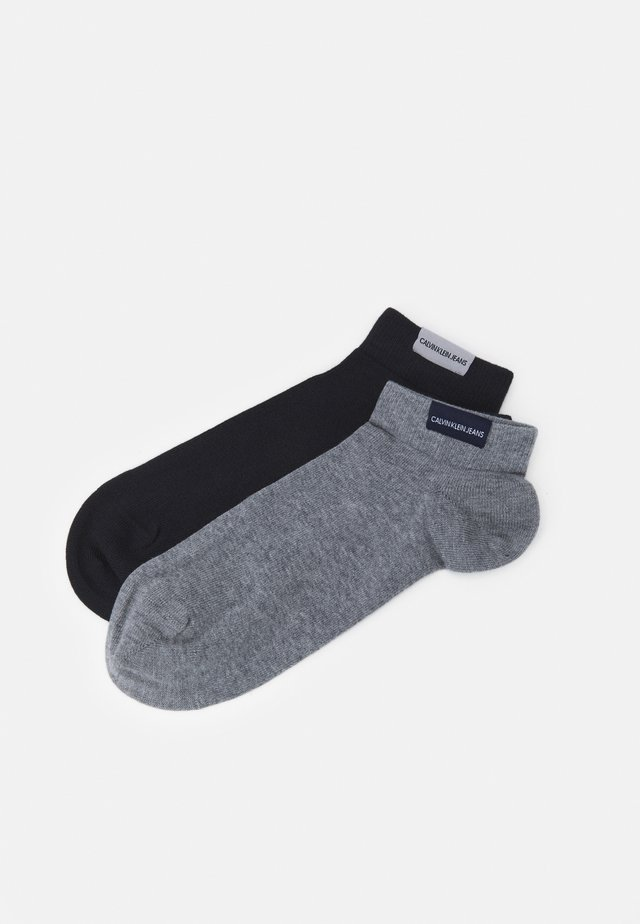 MEN LINER PATCH HARVEY 2 PACK - Socks - grey combo