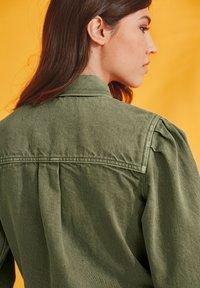 Next - Denim jacket - khaki - 1