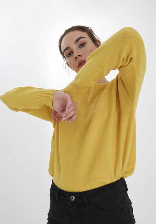 IHALPA LS2 - Sweter - super lemon