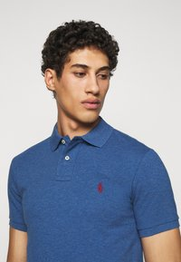 Polo Ralph Lauren - SLIM FIT MESH POLO SHIRT - Koszulka polo - royal heather - 3