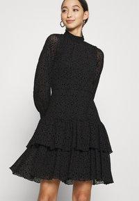 ONLY - ONLSANNA DRESS - Cocktail dress / Party dress - black - 3