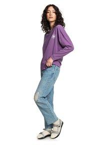 Quiksilver - MIT BAGGY  - Straight leg jeans - blue rip - 1