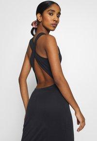 Superdry - ARIZONA CROSS BACK MIDI DRESS - Maxi dress - black - 4
