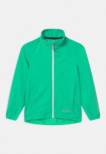 MANTEREET UNISEX - Softshellová bunda - green