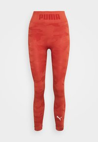 Puma - EVOKNIT SEAMLESS LEGGINGS - Medias - autumn glaze - 4