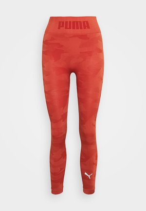 EVOKNIT SEAMLESS LEGGINGS - Medias - autumn glaze