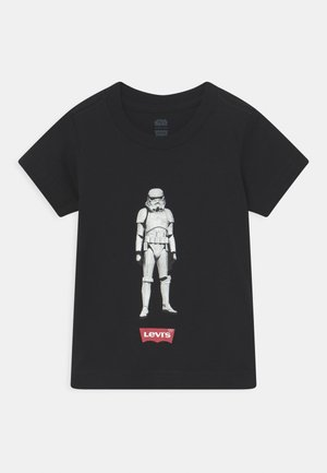 STAR WARS STORM TROOPER UNISEX - Triko s potiskem - black