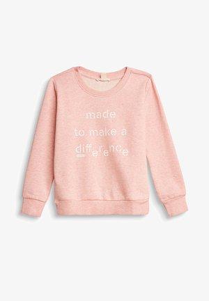 Sweatshirt - pastel pink
