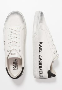 KARL LAGERFELD - SKOOL BRUSH LOGO LACE - Trainers - white - 1