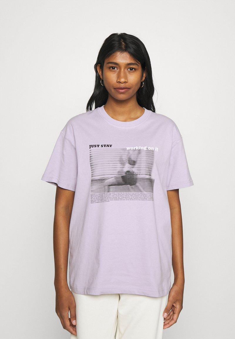 Envii - ENKULLA TEE - T-shirts print - just stay
