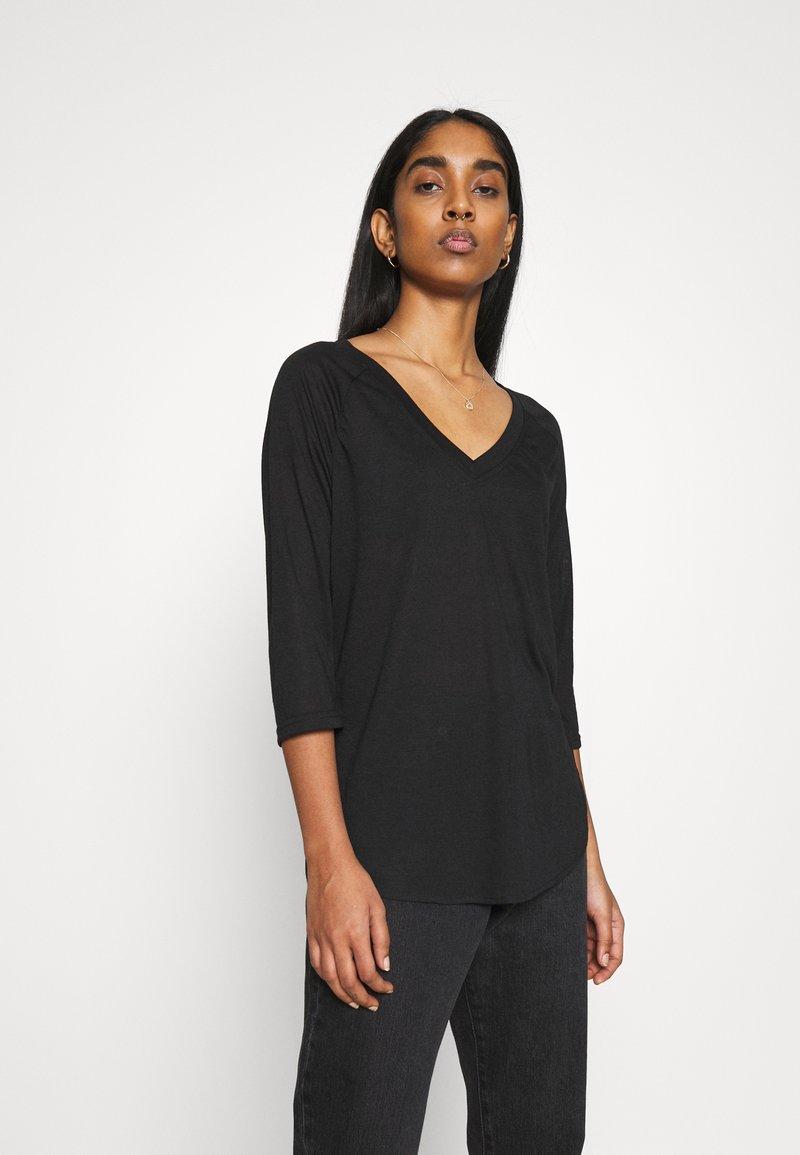 Vero Moda - VMSUPER - Long sleeved top - black