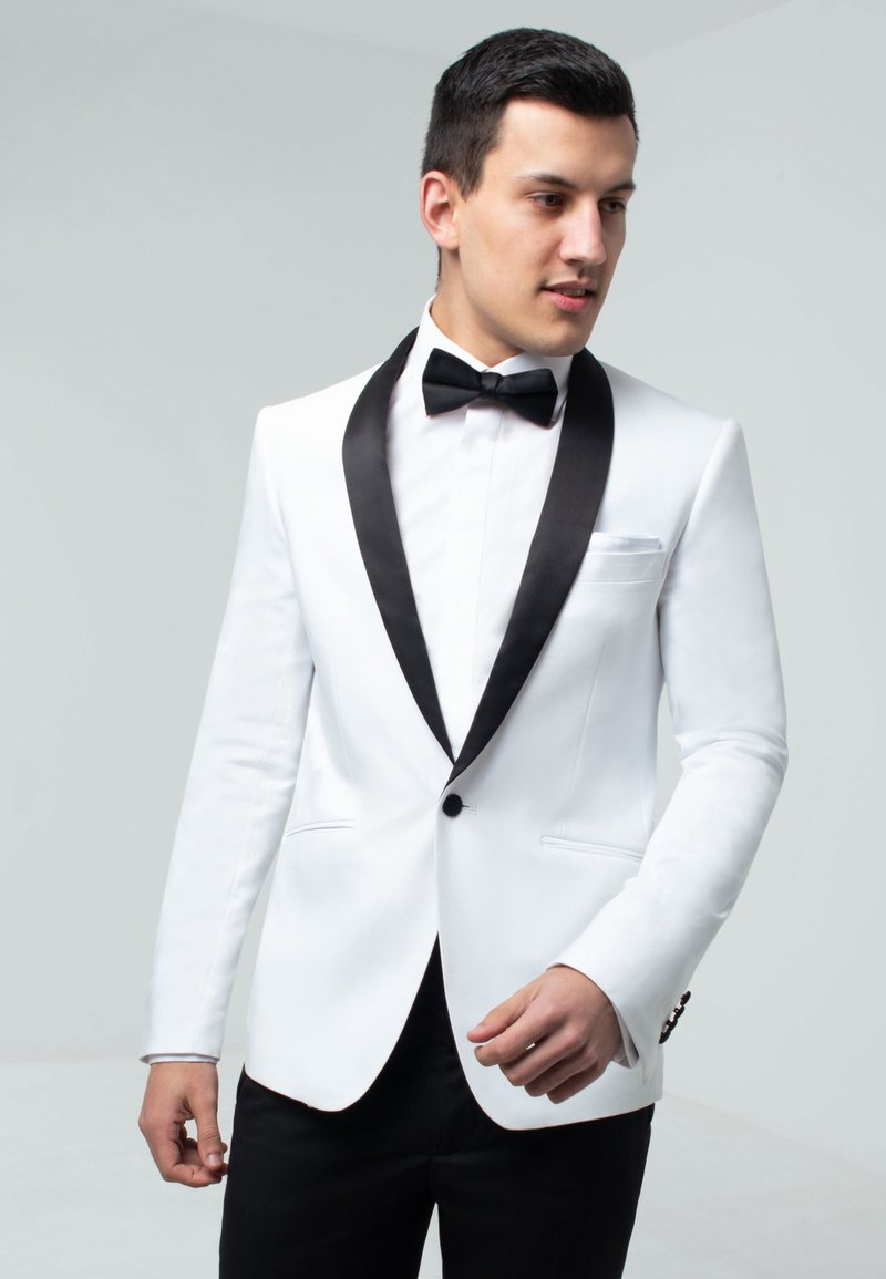 dobell - TUXEDO - Suit jacket - white