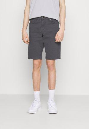 LUCKY FIVE POCKET - Denim shorts - dark grey