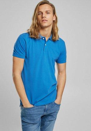 Polo shirt - bright blue