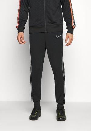ACADEMY PANT - Teplákové kalhoty - black/white