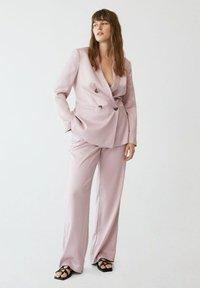 Violeta by Mango - Trousers - rosa - 1