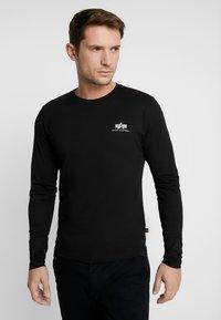 Alpha Industries - 198517 - Long sleeved top - black - 0