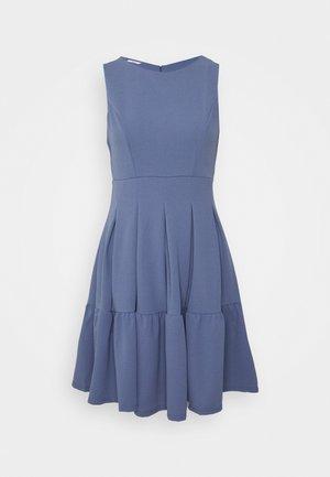 NICOLA SKATER DRESS - Jerseykjoler - indigo blue