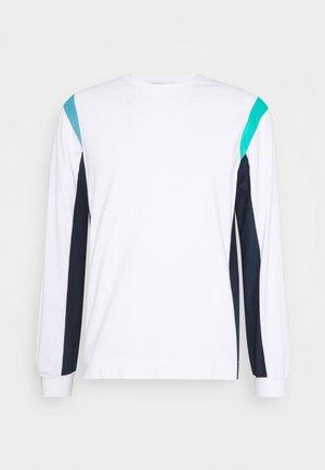 BEAM UNISEX - Camiseta de manga larga - white