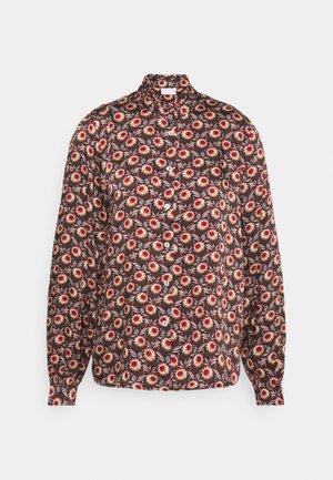 VIMARIE SIMPLE RUFFLE - Skjorte - navy blazer
