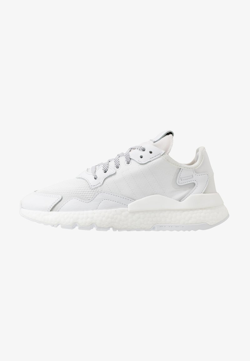 adidas Originals - NITE JOGGER - Trainers - footwear white