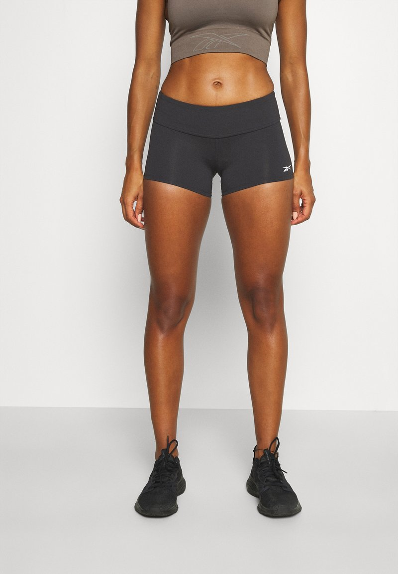 Reebok - CHASE BOOTIE SOLID - Tights - black