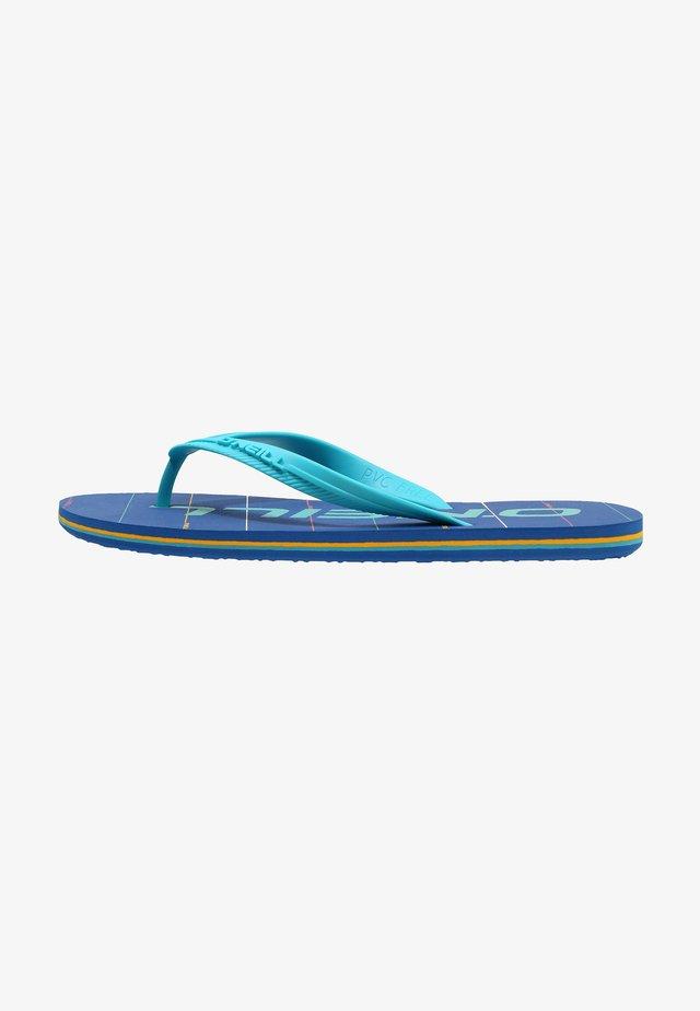 GRAPHIC - Teensandalen - blue print