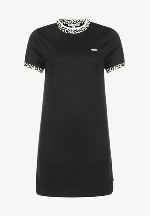 WM WILD HI ROLLER DRESS - Jersey dress - black