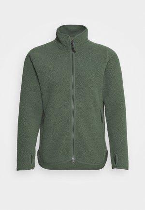 PILE - Fleecová bunda - thrill green