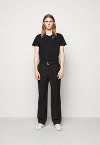 Iro - T-shirt imprimé - black - 1