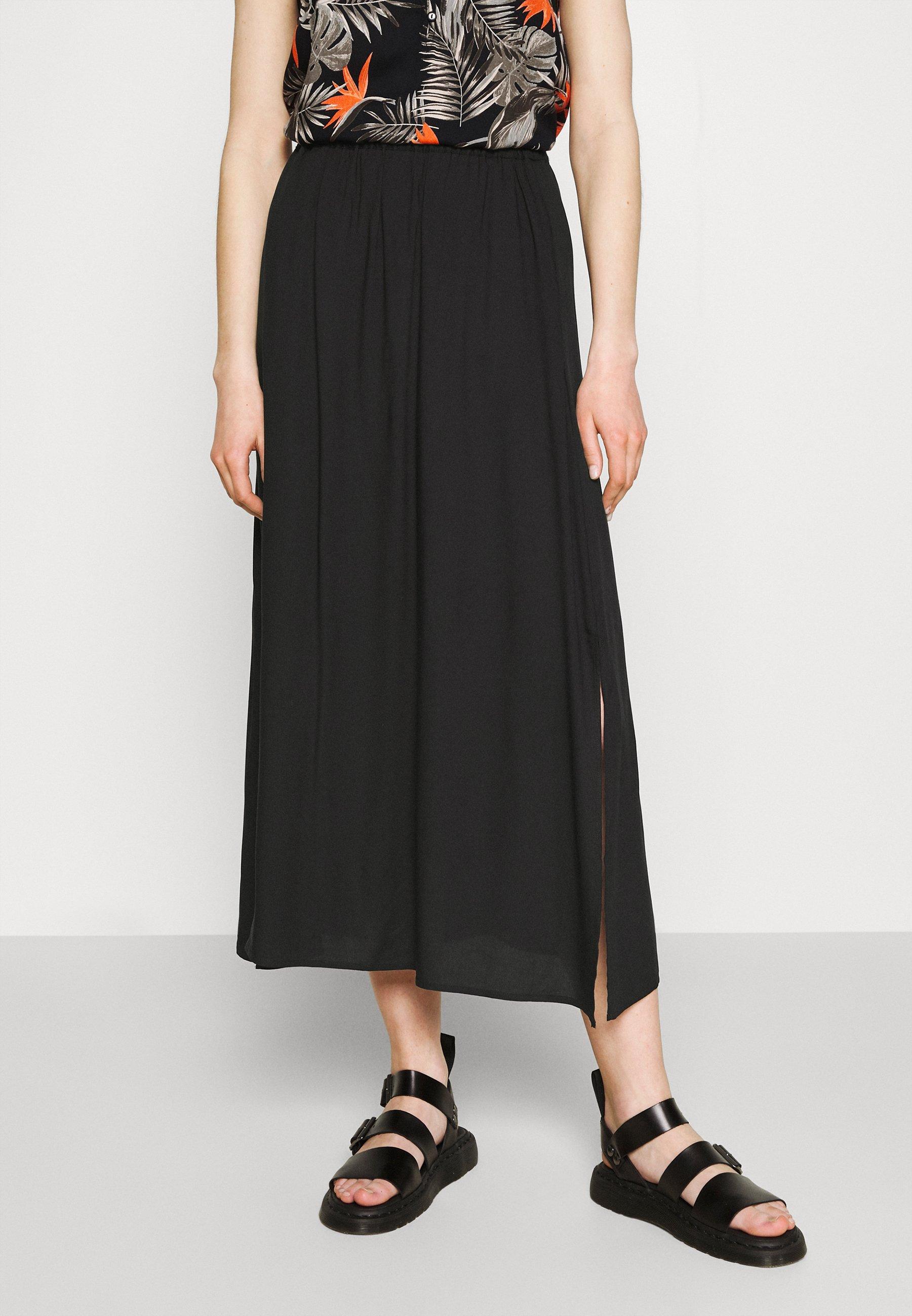 Women VMSIMPLY EASY SKIRT - Maxi skirt