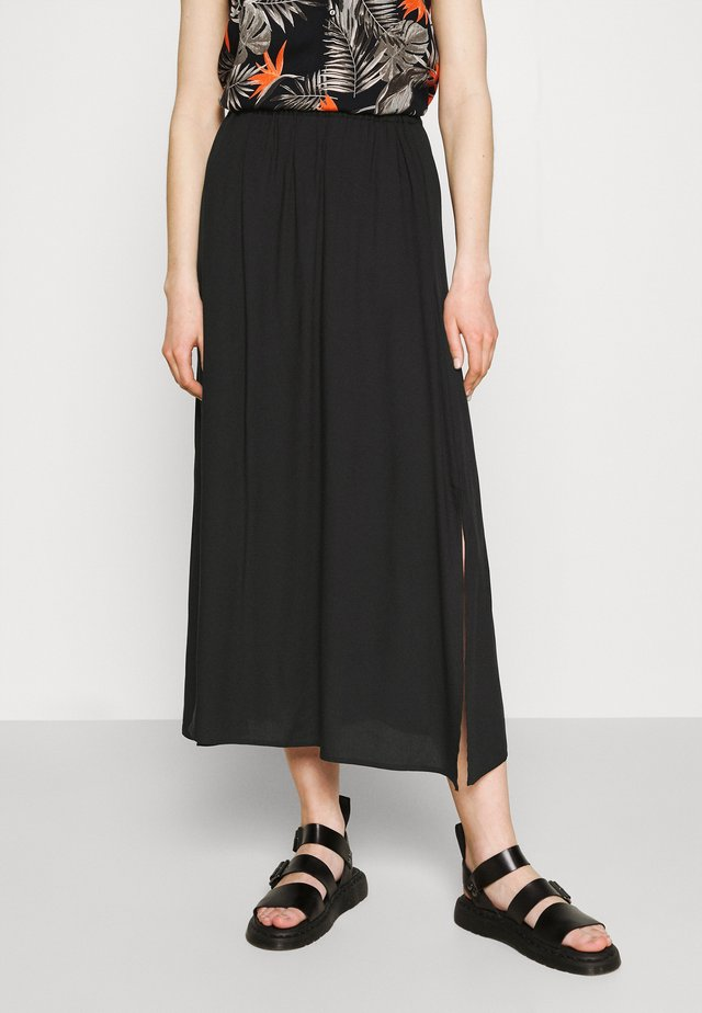 VMSIMPLY EASY SKIRT - Maxirock - black
