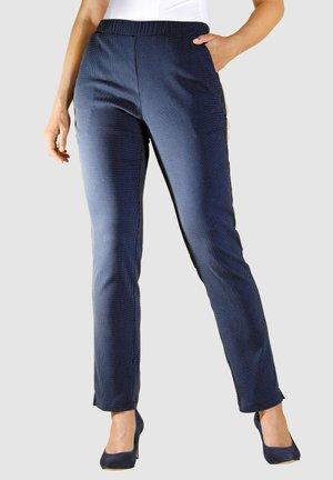 Trousers - marineblau,weiß