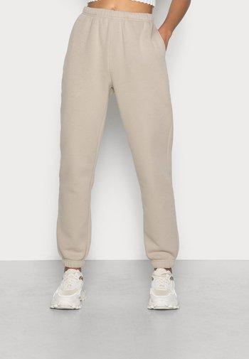 BASIC - Joggebukse - pure cashmere