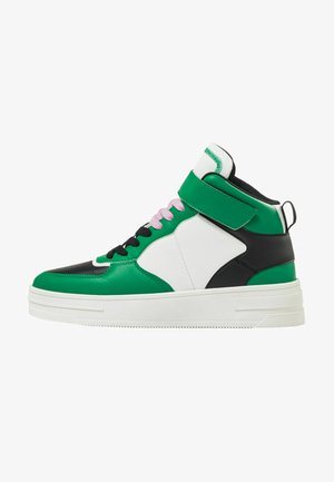 High-top trainers - multi-coloured