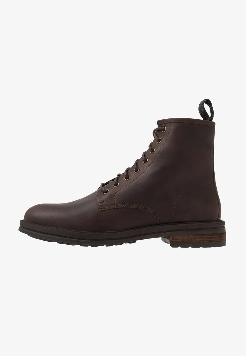 Walk London - WOLF LACE UP - Lace-up ankle boots - tan