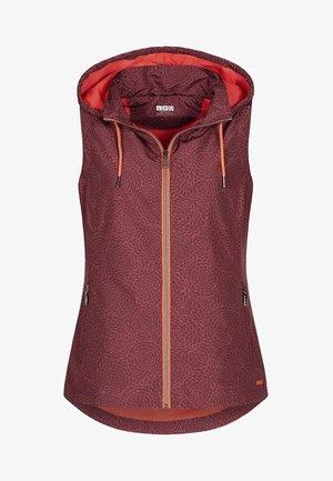 ACTIVE - Waistcoat - dark red