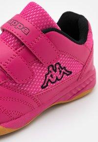 Kappa - KICKOFF - Sports shoes - pink/black - 5